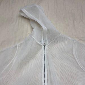Jackets & Blazers - See through fleece jacket